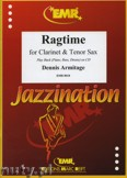 Ok�adka: Armitage Dennis, Ragtime for Clarinet and Tenor Sax
