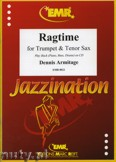 Okładka: Armitage Dennis, Ragtime for Trumpet and Tenor Sax