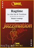 Ok�adka: Armitage Dennis, Ragtime for Alto Sax and Trombone
