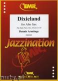 Okładka: Armitage Dennis, Dixieland for Alto Saxophone