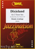 Okładka: Armitage Dennis, Dixieland for 2 Tenor Sax