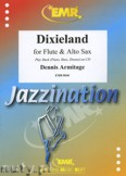 Okładka: Armitage Dennis, Dixieland for Flute and Alto Sax