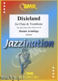 Ok�adka: Armitage Dennis, Dixieland for Flute and Trombone