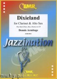 Okładka: Armitage Dennis, Dixieland for Clarinet and Alto Sax