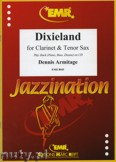 Okładka: Armitage Dennis, Dixieland for Clarinet and Tenor Sax