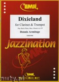 Okładka: Armitage Dennis, Dixieland for Clarinet and Trumpet