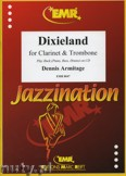 Okładka: Armitage Dennis, Dixieland for Clarinet and Trombone