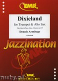 Okładka: Armitage Dennis, Dixieland for Trumpet and Alto Sax