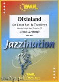 Okładka: Armitage Dennis, Dixieland for Tenor Sax and Trombone