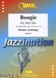 Okładka: Armitage Dennis, Boogie for Alto Saxophone