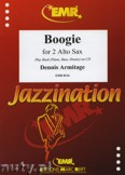 Okładka: Armitage Dennis, Boogie - Saxophone