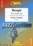 Okładka: Armitage Dennis, Boogie for 2 Tenor Saxophones