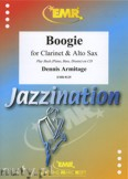 Ok�adka: Armitage Dennis, Boogie for Clarinet and Alto Sax