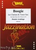 Ok�adka: Armitage Dennis, Boogie for Clarinet and Tenor Sax