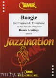 Ok�adka: Armitage Dennis, Boogie for Clarinet and Trombone