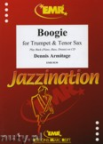 Ok�adka: Armitage Dennis, Boogie for Trumpet and Tenor Sax
