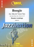 Ok�adka: Armitage Dennis, Boogie for Alto and Tenor Sax