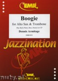 Ok�adka: Armitage Dennis, Boogie for Alto Sax and Trombone