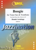 Ok�adka: Armitage Dennis, Boogie for Tenor Sax and Trombone