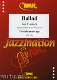 Ok�adka: Armitage Dennis, Ballad - CLARINET