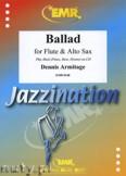 Ok�adka: Armitage Dennis, Ballad for Flute and Alto Sax