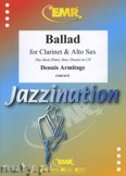 Ok�adka: Armitage Dennis, Ballad for Clarinet and Alto Sax