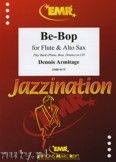 Okładka: Armitage Dennis, Be-Bop for Flute and Alto Sax