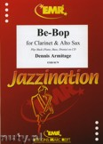 Okładka: Armitage Dennis, Be-Bop for Clarinet and Alto Sax