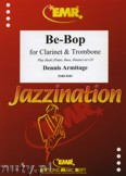 Okładka: Armitage Dennis, Be-Bop for Clarinet and Trombone