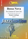Ok�adka: Armitage Dennis, Bossa Nova for Clarinet and Tenor Sax