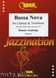 Ok�adka: Armitage Dennis, Bossa Nova for Clarinet and Trombone