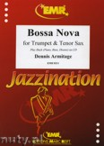 Ok�adka: Armitage Dennis, Bossa Nova for Trumpet and Tenor Sax