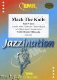 Ok�adka: Weill Kurt, Mack The Knife (Solo Voice) - Wind Band