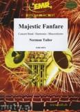 Ok�adka: Tailor Norman, Majestic Fanfare - Wind Band