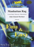 Okładka: Mortimer John Glenesk, Manhattan Rag - Wind Band