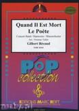 Ok�adka: Becaud Gilbert, Quand Il Est Mort Le Poete - Wind Band