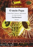 Okładka: Burkhard Paul, O mein Papa - Wind Band