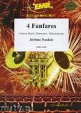 Okładka: Naulais Jérôme, 4 Fanfares - Wind Band