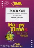 Okładka: Marquina Pascual, Espana Cani - Wind Band
