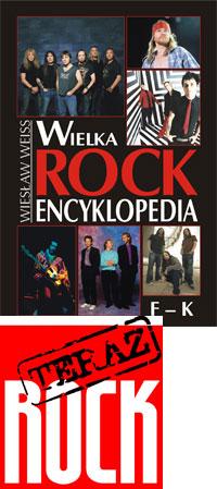 Okładka: Weiss Wiesław, Wielka Rock Encyklopedia t. 2 /F-K/