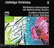 Okładka: Dzielska Jadwiga, Materiały pomocnicze do kształcenia słuchu, z. 2