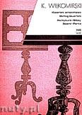Okładka: Wiłkomirski Kazimierz, Kwartet smyczkowy (partytura + głosy)