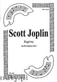 Ok�adka: Joplin Scott, 10 Ragtime'�w na fortepian