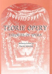 Ok�adka: Jab�o�ski Maciej, Teorie opery