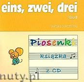 Okładka: Starczewska Barbara, eins zwei drei. Piosenki + CD klasa III