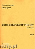 Ok�adka: Przybylski Bronis�aw Kazimierz, Four Colour Of The Sky for 4 Horns