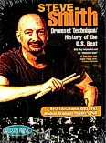 Ok�adka: Smith Steve, Drum Set Technique / History Of The U.S Beat (2 DVD Set)