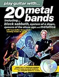 Ok�adka: , Play Guitar With... 20 Metal Bands