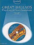 Ok�adka: Lesley Simon, Great Ballads Playalong For Tenor Saxophone