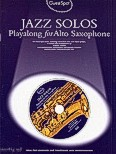 Okładka: Lesley Simon, Jazz Solos Playalong For Alto Saxophone (+ CD)